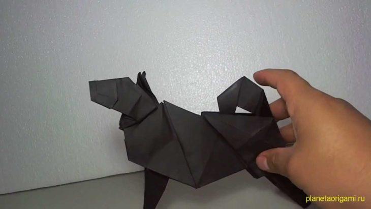 Собака по схеме Komatsu Hideo