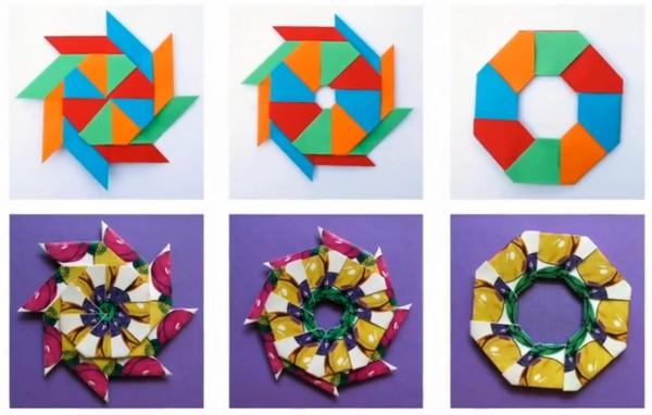 Магическая звезда-кольцо по схеме Robert Neale + 3D звезда от Джереми Шейфера