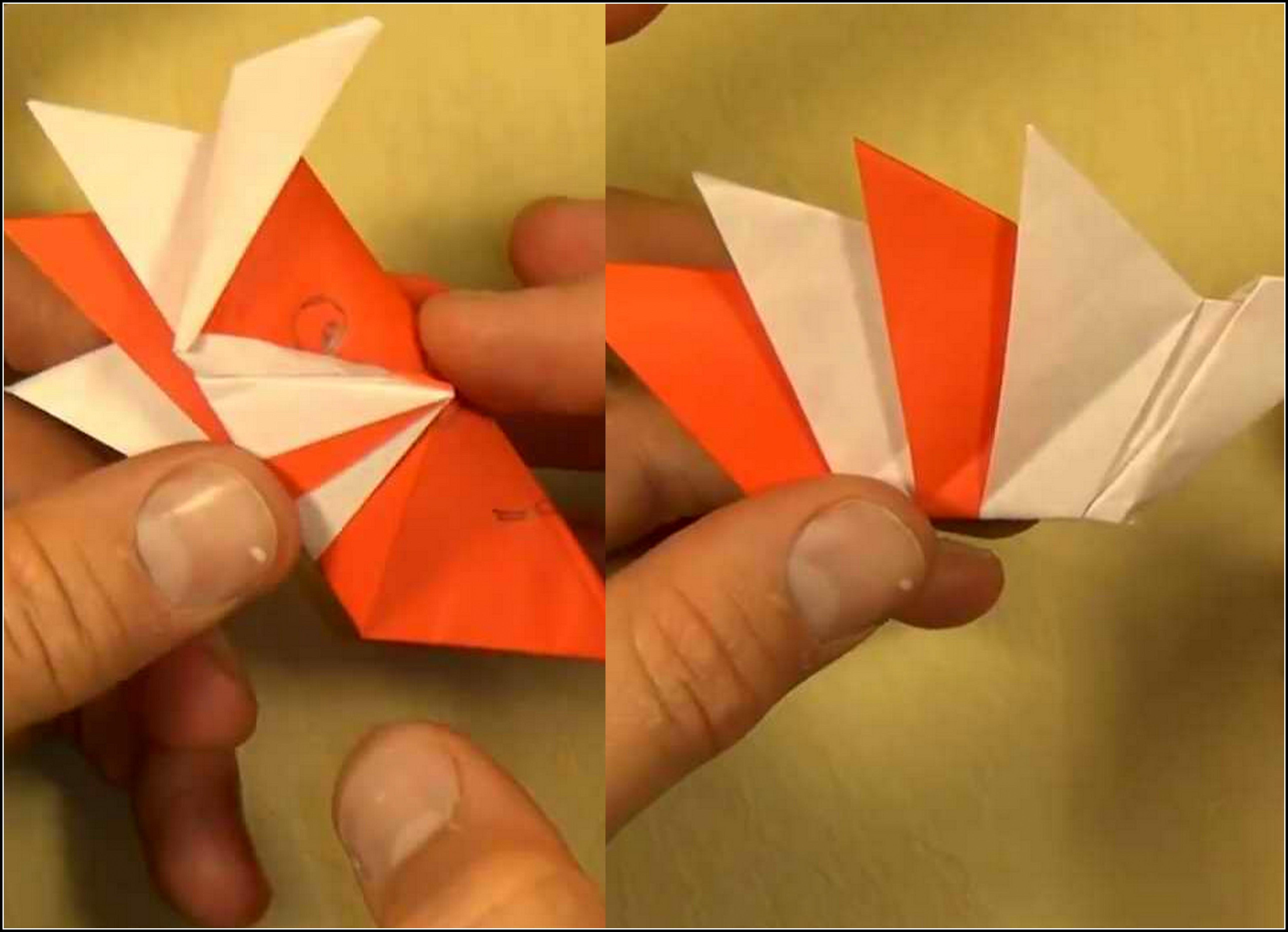 Пружинка оригами от Джефа Бейнона (Jeff Beynon)