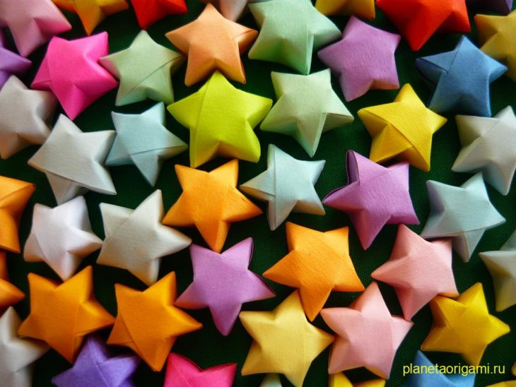 Звездочки счастья (lucky stars)