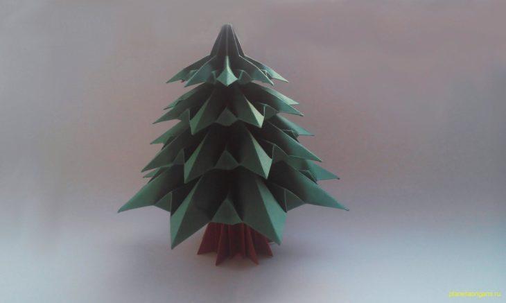 Новогодняя ёлка по схеме Francesco Guarnieri