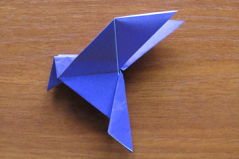 Фото голубь из бумаги как сделать