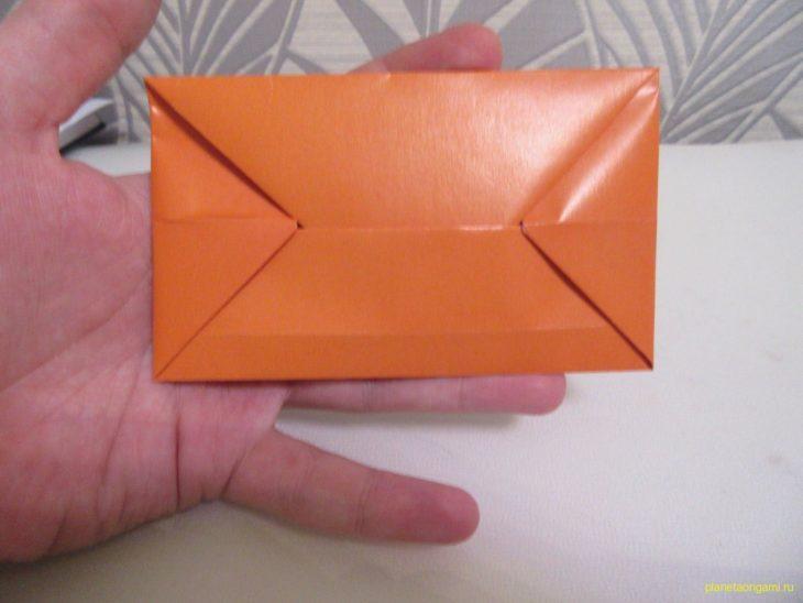 Оригами простой конверт