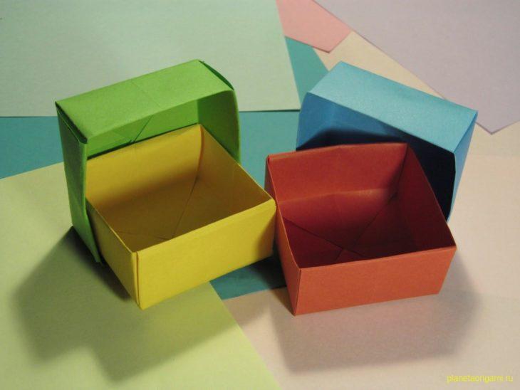 Оригами коробочка