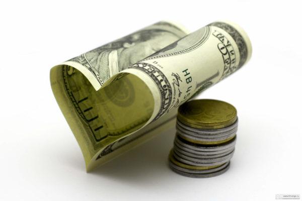 Сердечко из доллара