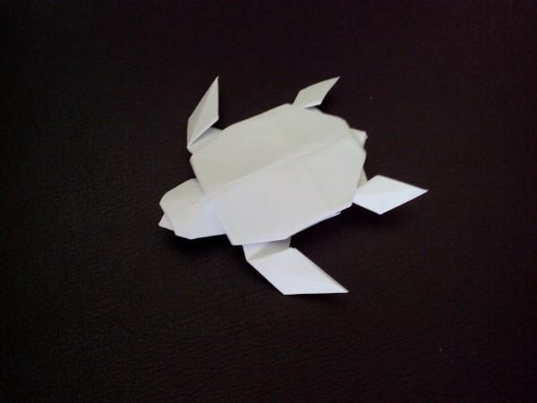 Оригами черепаха по схеме