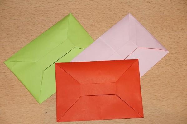 Делаем конверт из бумаги своими руками