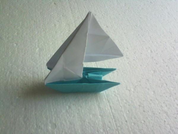 Оригами кораблик — пошаговая