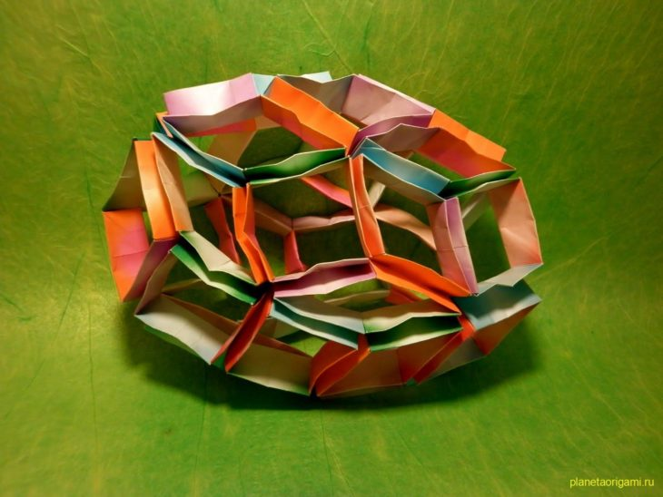 Гибкая кусудама-шар «Трансформер»