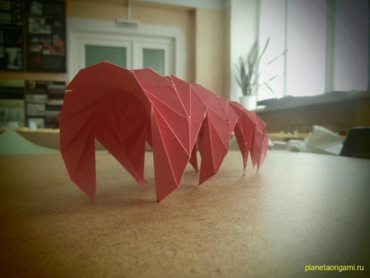 Оригами теплица
