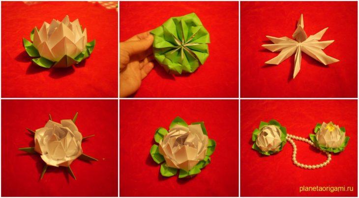 Лотос | оригами.