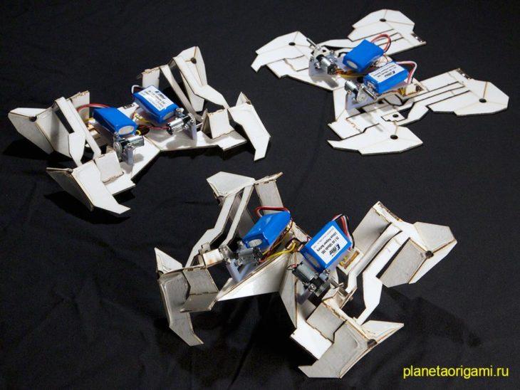 Роботы-оригами из Массачусетского технологического института