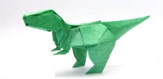 T-Rex от Романа Петренко (Yakomoga Origami)