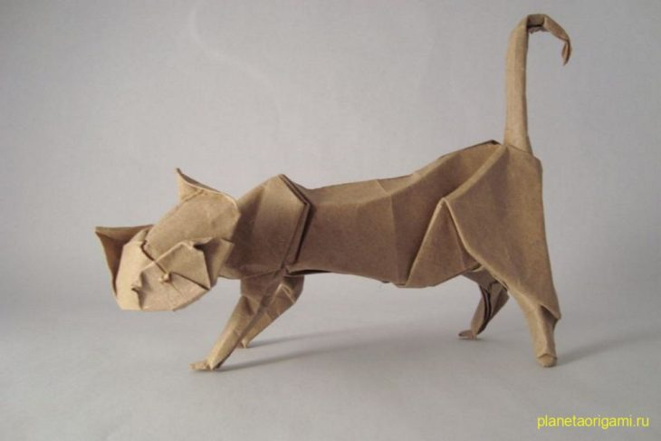 Кот по схеме Эрика Жуазеля (Eric Joisel)