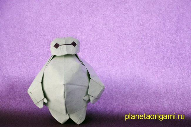 Оригами Бэймакс от Bluedandelion