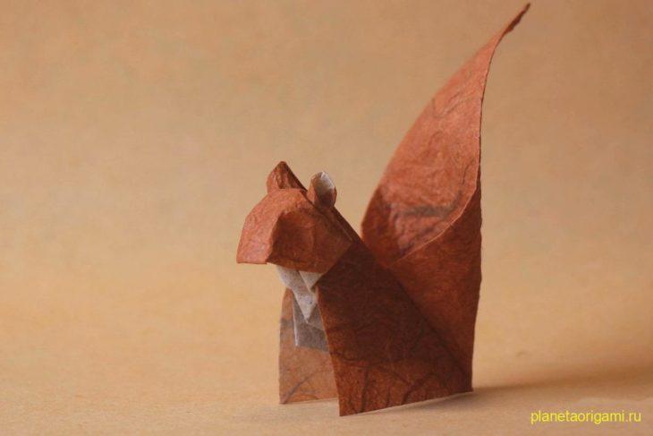 Оригами белка по схеме Петера Штайна (Peter Stein)