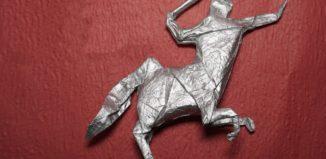 Оригами кентавр 2.0 по схеме Генри Фама (Henry Pham)