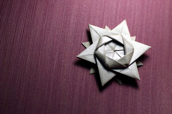 12-конечная звезда по схеме Петера Келлера (Peter Keller)