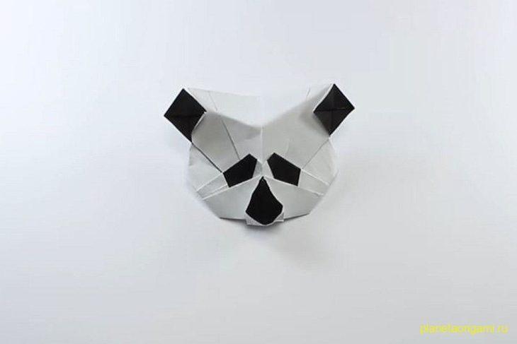 Простая оригами панда