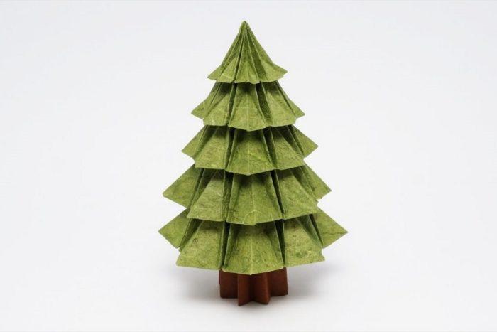 Новогодняя ель по схеме Джо Накашима (Jo Nakashima)