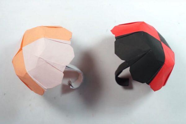 Зонтик из бумаги своими руками по схеме Генри Фама (Henry Pham)