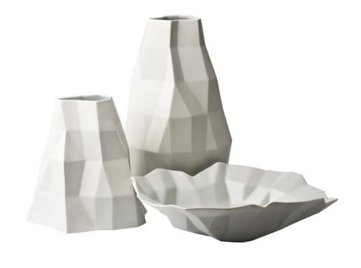оригами посуда