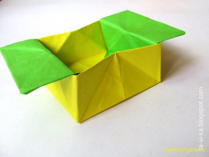 оригами сказка про крестьянина