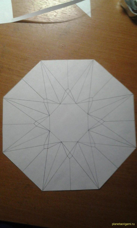 Как из бумаги сделать алмазы 698