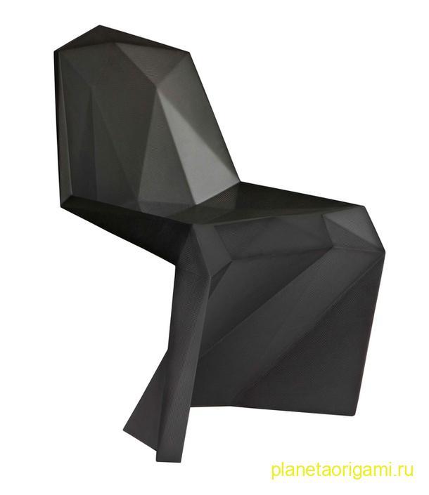оригами стул