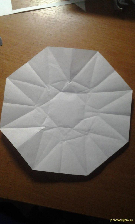 Как из бумаги сделать алмазы 686
