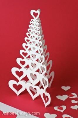 подарок киригами