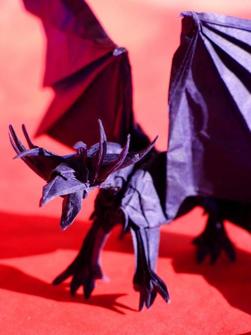 Ancient dragon из бумаги
