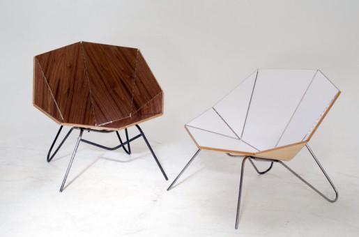 """Оригами мебель """"Cut & Fold"""""""