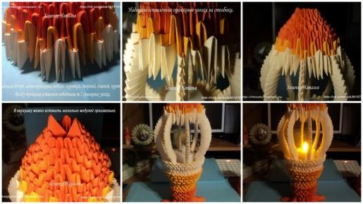 Лампада для Олимпийского огня из модулей