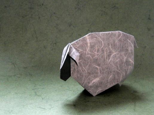 Простая овца по схеме Román Díaz