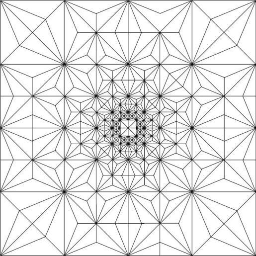 Floripon Fractal - Roman Diaz pattern
