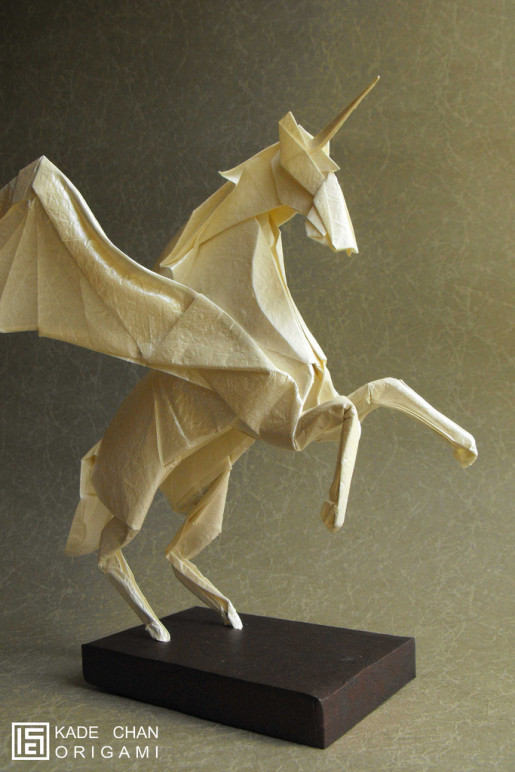 оригами пегас
