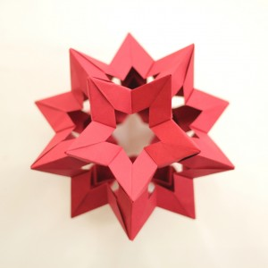 Kusudama Star Holes