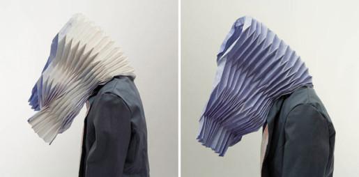 оригами капюшон для интровертов