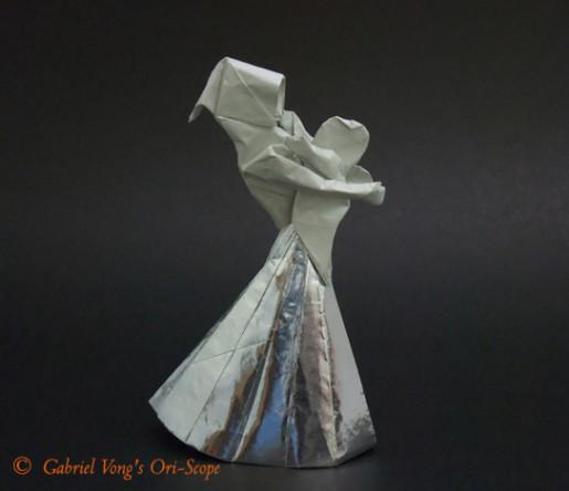 оригами мать и дитя