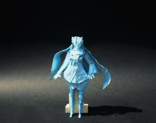 оригами вокалоид