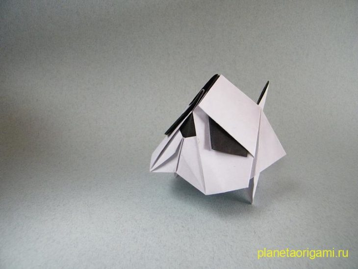 Origami Bulldog by Jacky Chan