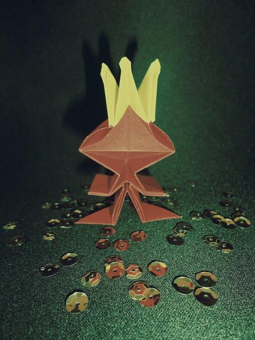 оригами принц
