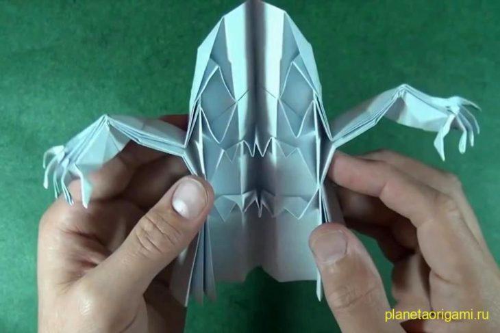 оригами приведение