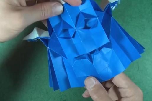 оригами гоблин