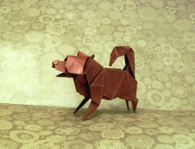 Origami Puppy by Katsuta Kyouhei2