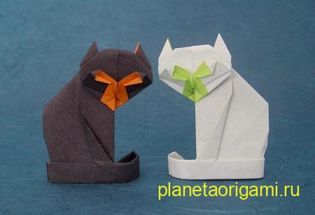 Cats origami Gilad