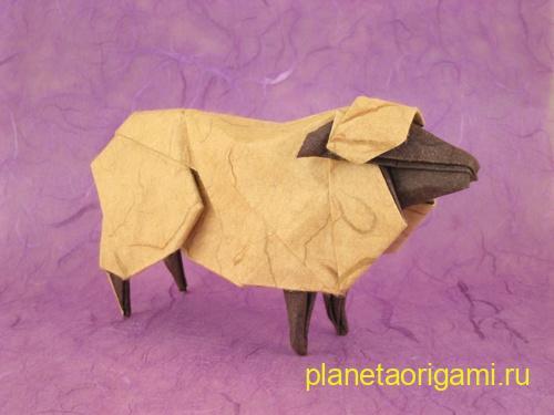 бумажная овца от хидео коматсу