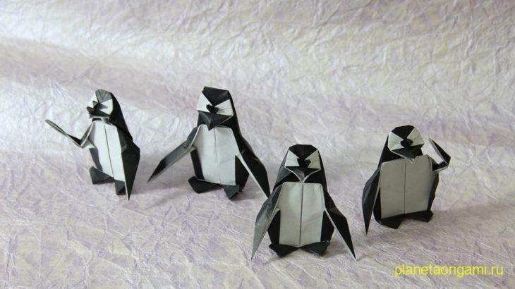 Penguin оригами