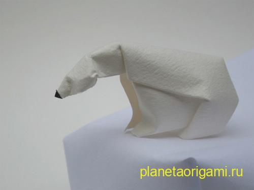 Polar bear by Dinh Truong Giang